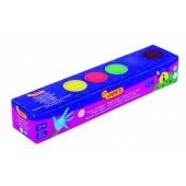 Farby do malowania palcami JOVI 5 kolorów  540