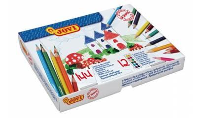Kredki ołówkowe JOVI 12kol. (144szt) 739