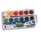 Farby akwarelowe JOVI 12 kolorów 800 / 12