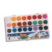 Farby akwarelowe JOVI 24 kolorów  800 / 24