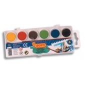 Farby akwarelowe JOVI 6 kolorów 800 / 6