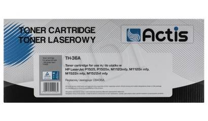 ACTIS Toner HP CB436A Black (P1505/M1120/M1522) 2,0K NEW