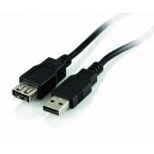 Przedłużacz USB Active Jet A-A MF 1.8 m czarny