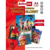 Papier fotograficzny Active Jet A4 180g błyszczący AP4-180G20 (20ark)