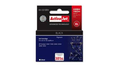 Active Jet Tusz HP CH563EE No.301XL Black (DJ1000/2000/3050) 20ml REG