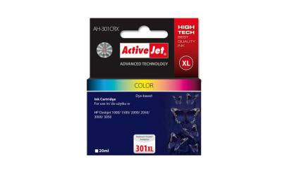 Active Jet Tusz HP CH564EE No.301XL Color (DJ1000/2000/3050) 21ml REG