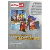 Papier fotograficzny Active Jet A4 125g mat premium AP4-125M100 (100ark)