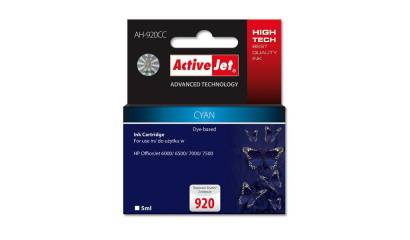 Active Jet Tusz HP CD972AE No.920XL cyan CHIP (OJ6000/6500/7000) 12ml.