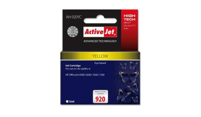 Active Jet Tusz HP CD974AE No.920XL yellow CHIP (OJ6000/6500/7000) 12ml.