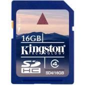 Karta pamięci Kingston SDHC SD4 16GB