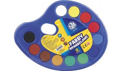 Farba akwarelowa ASTRA 12kol.paletka 83216903