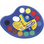 Farby akwarelowe ASTRA 12 kolorówpaletka 83216903