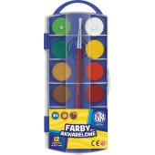 Farby akwarelowe ASTRA 12kol. fi 23,5mm 83216905