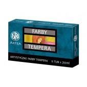Farby tempera ASTRA 6kol. tuba 20ml.83419901