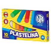 Plastelina szkolna ASTRA 10 kolorów  Tradycjna artykuły szkolne