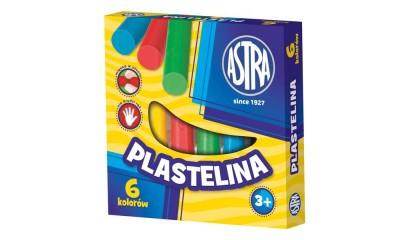 Plastelina szkolna ASTRA 6kol. tradycyjne 83811905
