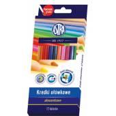 Kredki akwarelowe ASTRA 12  kolorów  312110004