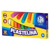 Plastelina szkolna ASTRA 12 kol. tradycyjna 83813906