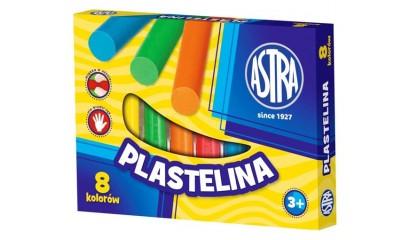 Plastelina szkolna ASTRA 8kol. tradycyjna 83814902