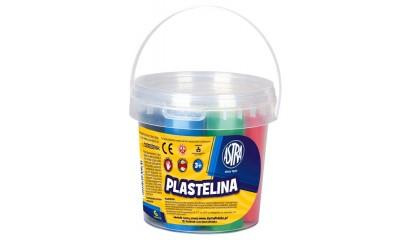 Plastelina szkolna ASTRA 6kol. wiaderko 303106001