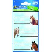 Naklejki na zeszyty - konie AVERY 59294