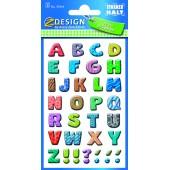Papierowe litery - kolorowe AVERY 59334
