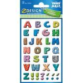 Kolorowe literki Z-Design