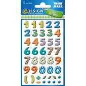 Kolorowe cyferki Z-Design