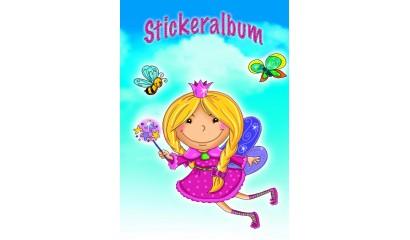 Album na naklejki AVERY księżniczka, A5 57798