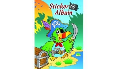 Album na naklejki AVERY papuga-pirat, A5 57799