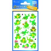 Naklejki papierowe - żabki AVERY 53168