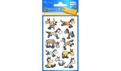 Naklejki papierowe - koniki AVERY 53192