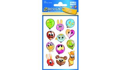 Naklejki na błyszczącym papierze - baloniki AVERY 53196