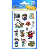 Naklejki papierowe - piraci AVERY 53197