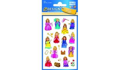 Naklejki papierowe - księżniczki AVERY 53198