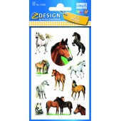 Naklejki na błyszczącym papierze - konie AVERY 53483
