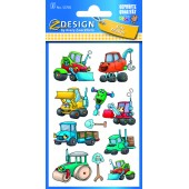 Naklejki papierowe - pojazdy AVERY 53705