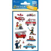 Naklejki Z-Design - strażak, policjant