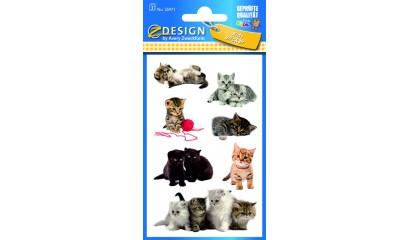naklejki papierowe - kotki AVERY 55971