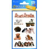 Naklejki papierowe - szczeniaczki AVERY 55972