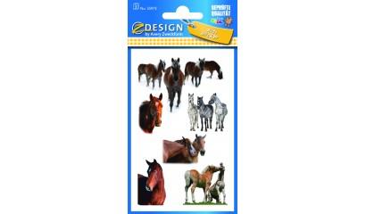 Naklejki papierowe - konie AVERY 55973