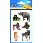 Naklejki papierowe - zwierzęta