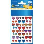 Naklejki Z-Design 3d - serca
