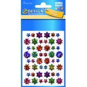 Naklejki folia 3d - gwiazdy AVERY 55231
