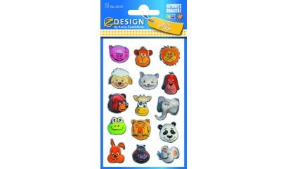 Naklejki forlia 3D - zwierzątka  AVERY 53157