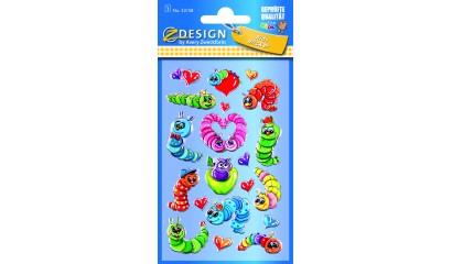 Naklejki folia 3D - gąsienice AVERY 53158