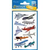 Naklejki Z-Design 3D - samoloty