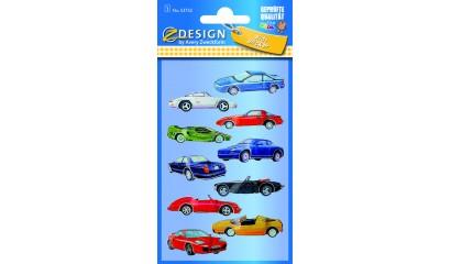 Naklejki folia 3D - wyścigówki  AVERY 53752