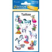 Tatuaże Z-Design - elfy