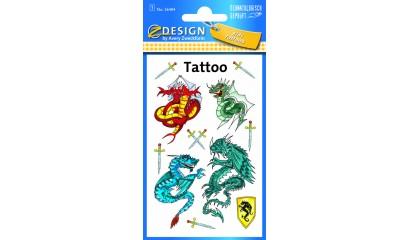 Tatuaże - smoki  AVERY 56404